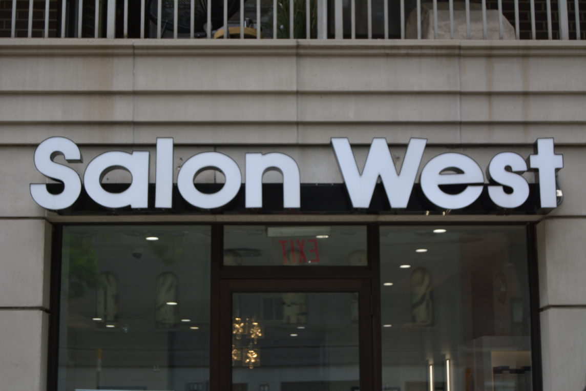 Salon west in New York city